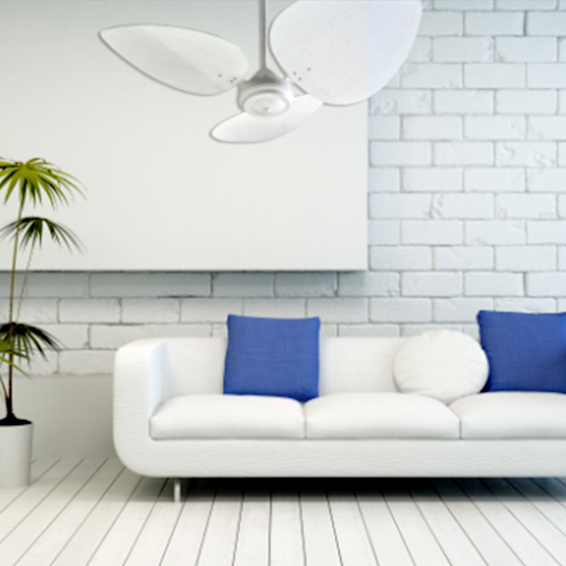 French-White-Ceiling-Fan