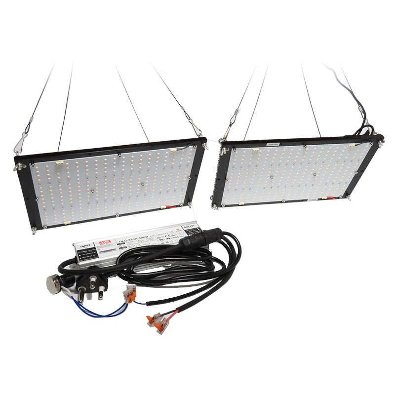 240W QUANTUM BOARD, SYNERGY TWO BOARD GROW LIGHT KIT