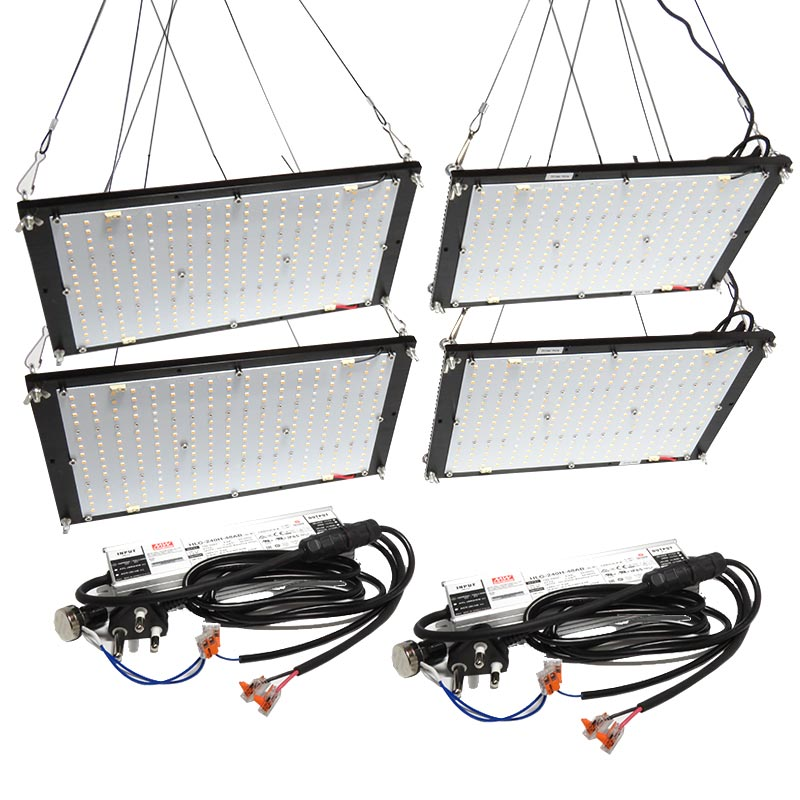 480W QUANTUM BOARD, SYNERGY FOUR BOARD GROW LIGHT KIT